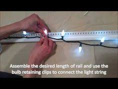 custom length christmas light strings how to hang christmas lights the easy way hanging christmas