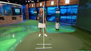 mini pool table academy golf channel academy lead coach kelley brooke demonstrates the