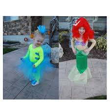 cutest kids halloween costumes flounder and ariel homemade costumes so cute really like the