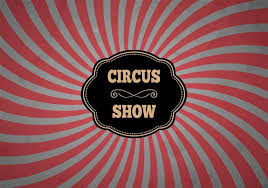 free classical circus background vector free vector
