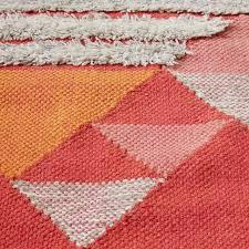 Colorful Kilim Rug Sonora Shag Wool Kilim Rug West Elm