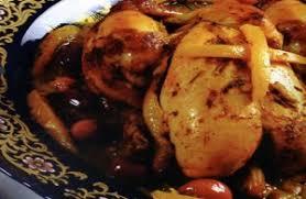 cuisine marocaine poulet aux olives recette de poulet aux olives à la marocaine une recette de cuisine