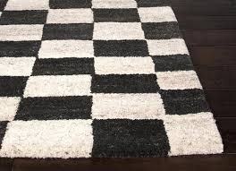 Area Rug Black And White Black And White Checkered Rug Best Decor Things
