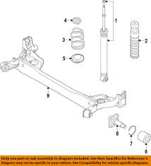 nissan versa engine diagram nissan oem 2014 versa note rear shock absorber or strut e62103wc0c