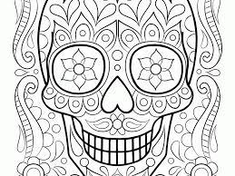 gorgeous design ideas dia de los muertos coloring book 13