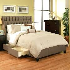 White Bed Frame With Storage Extra Strong Bed Frame Modern Queen Platform Bed With Storage
