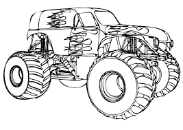 hd wallpapers coloring pages monster jam tio ikik info