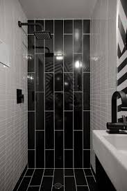 bathroom tiles black and white ideas 36 black shower tile ideas and pictures