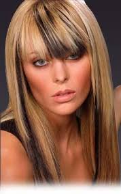 chunking highlights dark hair pictures hair highlights latest hairstyles