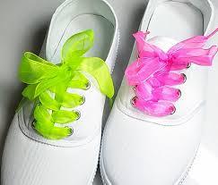 ribbon shoe laces fashion princess shoe laces strings multi color ribbon shoe laces