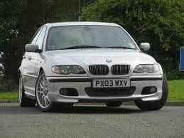 used bmw 3 series uk used bmw 3 series 2003 petrol 330i sport 4dr saloon silver with