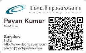 Business Card With Qr Code Qr Code Business Cards Smart Business Cards That Speak More