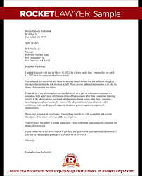 letter challenging a credit denial with sample