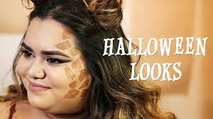 Giraffe Halloween Makeup 3 Easy Halloween Looks With Nabela Noor Youtube
