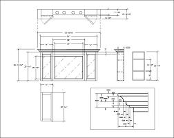 Kitchen Cabinet Construction by Dave U0027s Medicine Cabinet Construction Details Plans Bathroom