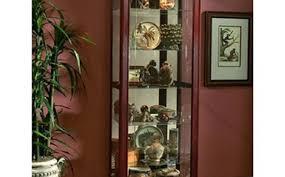 Cherry Wood Curio Cabinet Curio Cabinet Pulaskiurioabinetostco Keepsake Golden Oak