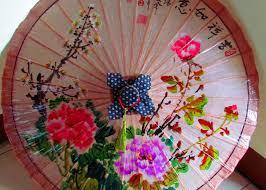 How To Make Paper Umbrellas - travels with my own handmade hakka paper umbrella
