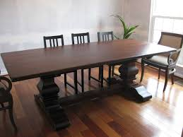 handmade dining room tables table comely round rustic pedestal dining table t rustic pedestal