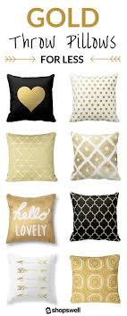 Pillow Gold Touch Dream Bedroom Best Decorative Pillows Ideas