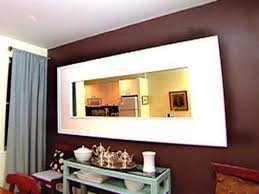 weekend project build a mirror frame hgtv