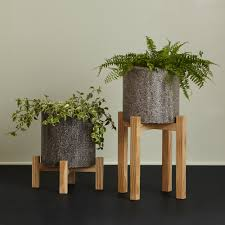 Tall Home Decor Tall Concrete Planters Gardens And Landscapings Decoration