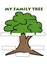 family tree template word free reference images clipart clipartix