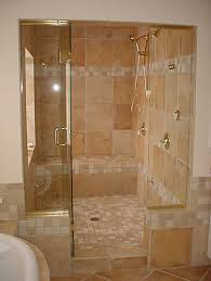 accessories endearing frameless glass shower door and brown