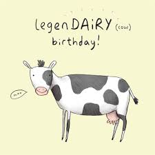 Cow Birthday Card Appelaing Legen Daity Cow Birthday Card Invitation And For Special