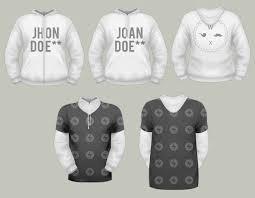 t shirt template pack psd u0026 vector files designshock shockfamily