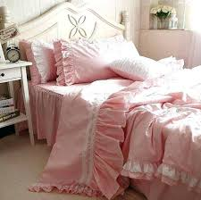 pink bedding twin ruffle duvet cover twin pink light pink ruffle
