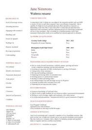 Resume For Waitress No Experience Medical Receptionist Resume With No Experience Http Www