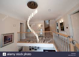 Dining Room Light Fittings Ultra Modern Entrance Hall Landing Light Fitting Spiral Stock