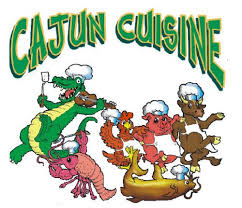 cajun cuisine t shirt with cajun cuisine design