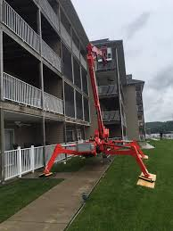 cmc 83hd atrium tracked lift all access equipment