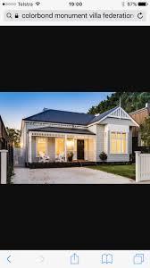 colorbond u0027monument u0027 roofing colour in photo paint pinterest