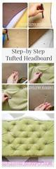 354 best diy images on pinterest diy tufted and upholstered headboard tutorial www classyclutter net