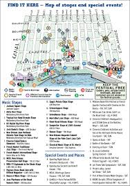 Tourist Map Of New Orleans by French Quarter Festivals Inc New Orleans La