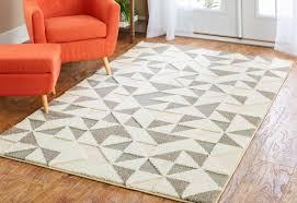 brayden studio nickson chevron arrow gray cream area rug u0026 reviews