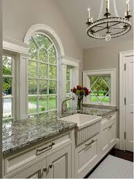 White Kitchens With Granite Countertops Blue Flower Granite Countertop Houzz