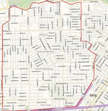 Map Of Houston Area Montrose Real Estate A True
