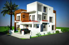 home design for 10 marla 3d front elevation com 10 marla corner house plan design of tariq