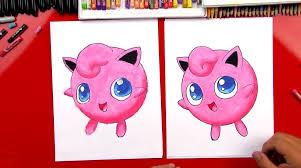 how to draw jigglypuff art for kids hub
