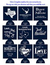 custom wedding koozies sayings for a wedding koozie search wedding