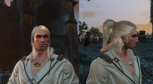 witcher 2 hairstyles witcher 1 and 2 hairstyles on geralt witcher