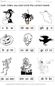free halloween phonics worksheet visit website to get more free