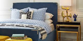 Beds  Headboards Modern Bedroom Furniture Jonathan Adler - Jonathan adler bedroom
