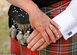 scottish wedding rings greenwood spends months panning for gold to make engagement