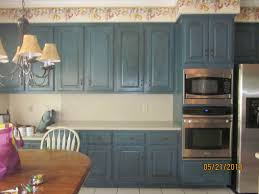blue chalk paint kitchen cabinets kitchen cabinets painted she used sloan chalk paint