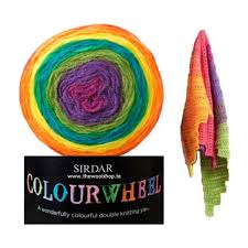 sirdar water wheel rainbow 202 knitting yarn wool and knitting