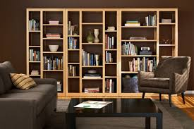 Bookshelf In Living Room Open Back Bookcase Plans U2014 Doherty House